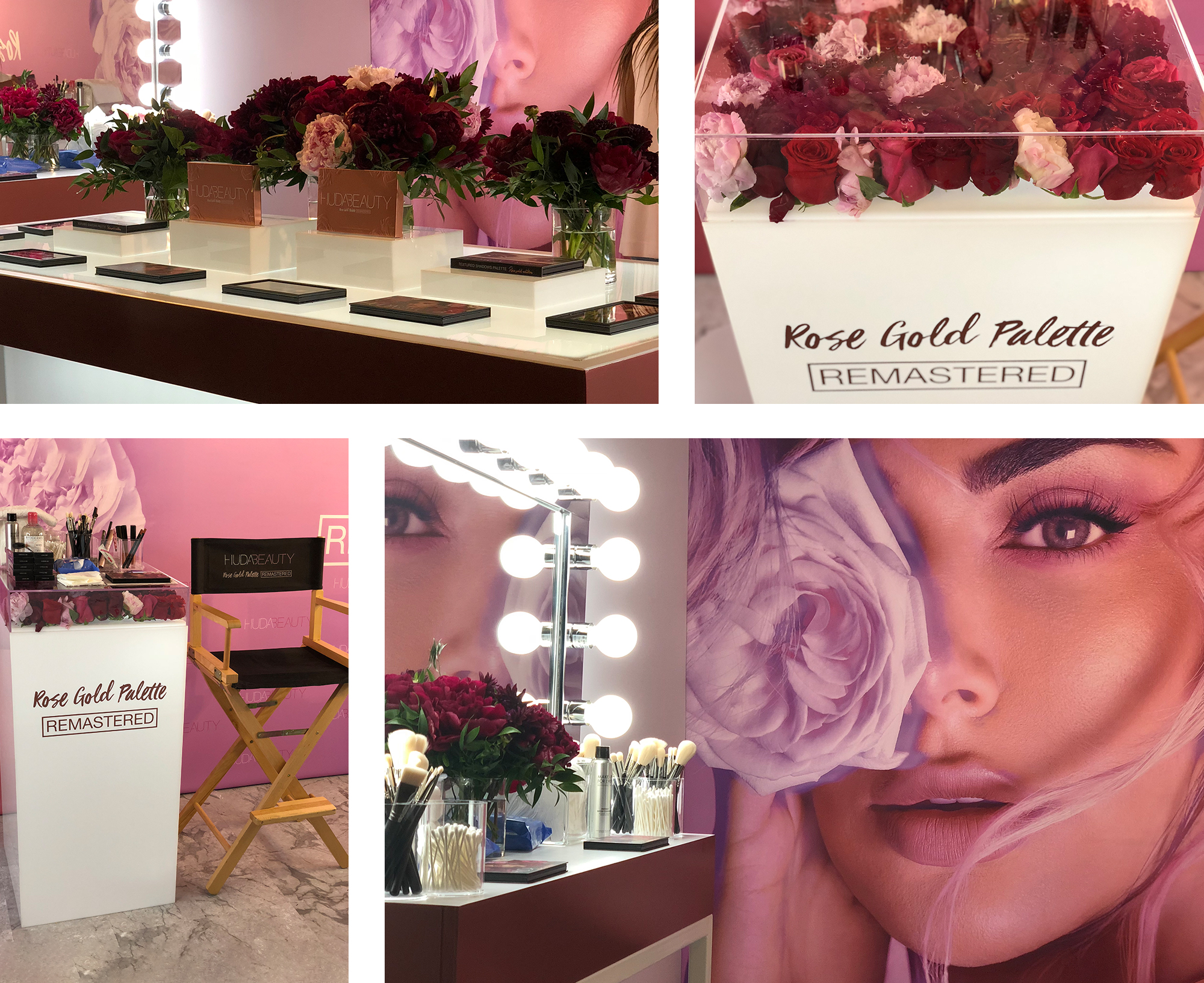 Huda Beauty's Tradeshow Booth By Event Mechanics Co